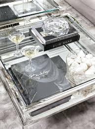 silver and glass coffee table square coffee table stainless steel glass coffee table glass and silver coffee table geometric silver glass coffee table