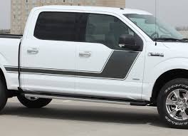 2014 Ford F 150 Color Chart 2009 2020 Ford F 150 Stripes Force Two Solid Door Vinyl