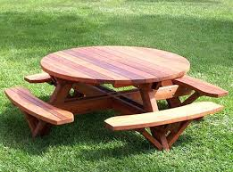 wooden round picnic table a picnic just the way i like it wooden picnic table kits home depot childrens wood picnic table for