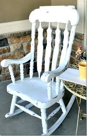 white outdoor rocking chair. Formidable White Outdoor Rocking Chair Image Ideas . H