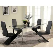 glass dining furniture. chellsey extendable glass dining table furniture