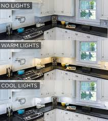 undermount cabinet lighting. This Under Cabinet Lighting Comparison Shows The Stark Difference Lights Make In A Kitchen! Choose Warm White Color Temperature For Inviting Accent Undermount