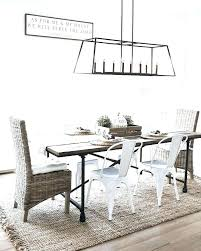 linear chandelier casual farmhouse dining room with home improvement s crystal din