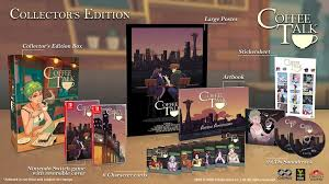 Coffee talk is a game about listening to people's problems and help them by serving a warm drink out of the ingredients you have. Coffee Talk Collector S Edition Nsw Preorder Strictly Limited Games