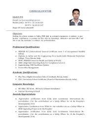 Haris Safety Officer CV. CURRICULUM VITAE HARIS.PH E-mail:  harimarwapni@gmail.com Mobile ...