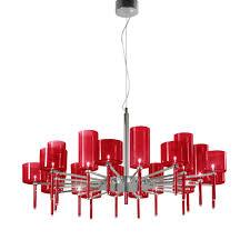 axo light spillray spspil20rscr12v red pendant ceiling light