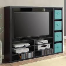 Tv Entertainment Stand Mainstays Entertainment Center For Tvs Up To 55 Walmartcom