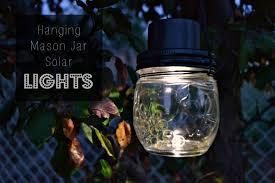 hanging mason jar solar lights how to make a hanging light diy outdoor kit light full