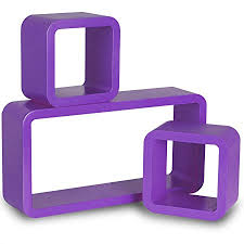 Purple Floating Shelves Simple WOLTU 322 32 X Purple Floating Wall Shelf Floating Shelves Storage