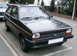 Ford Fiesta (first generation) - Wikipedia