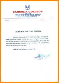 Fresh Teacher Experience Certificate S Sample Experience Certificate