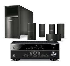 yamaha 5 1 receiver. image is loading bose-acoustimass-10-series-v-black-speakers-amp- yamaha 5 1 receiver