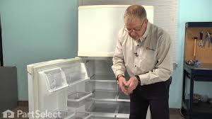 refrigerator repair replacing the door shelf retainer bar whirlpool part w10421486