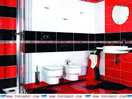 Red Black Bathroom Decor Coordinated Bathroom Accessories Com Red