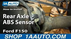 1995 F150 Abs Light On How To Replace Rear Axle Abs Sensor Ford F150