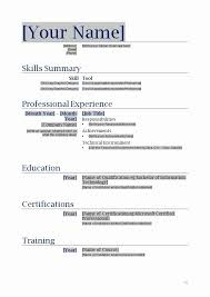 Free Printable Resume Maker Best Free Printable Resume Maker Inspirational Resume Templates Pour