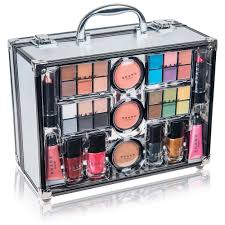 shany makeup kit. all in one makeup kit eye shadow palette/blushes/powder and more - holiday exclusive shany