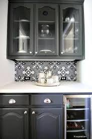 glass front butler pantry beverage fridge design ideas