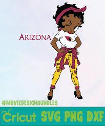 Find & download free graphic resources for bear logo. Betty Boop Arizona Nfl Logo Svg Png Dxf Movie Design Bundles