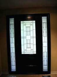 front door with panels full glass exterior door stained glass front entry door with side panels