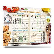 Cooking Conversion Chart Amazon Com