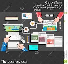 flat design stylish vector illustration of routine organization of