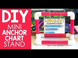 Anchor Chart Stand Diy Mini Anchor Chart Stand