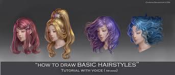 hair tutorial by chubymi