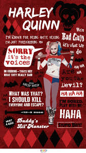 Harley Quinn Quotes Awesome The Best Harley Quinn Quotes In One Awesome Infographic