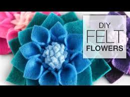 diy felt flowers no sew fabric flower tutorial on felt flower wall art diy with diy felt flowers no sew fabric flower tutorial youtube