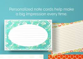 Note Card Printing Optional Rounded Corners Printplace