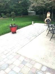 Patio Floor Covering Ideas Backyard Concrete Slab Ideas Outdoor