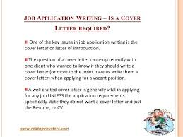 Sample Of Resume Letter For Job Application Job Application Writing
