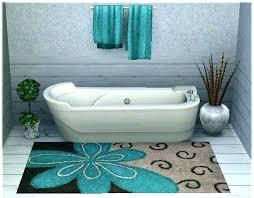 blue bath rugs navy blue
