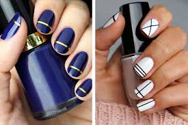 Simple Nail Design Ideas Stripes