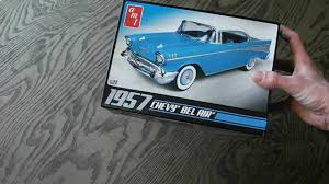 24 - 1/25 AMT 1957 Chevy Bel Air Review - YouTube
