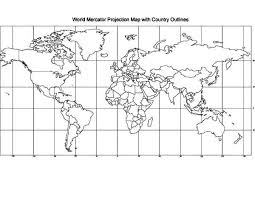 Educational World Map Coloring Page Download Print Online