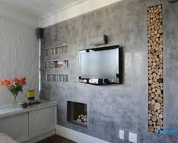 Estos pasos podrás hacer texturas de rayas verticales y horizontales para darle un look más sofisticado a tus paredes. Pared Texturizada Modernas Y En Paredes Interiores
