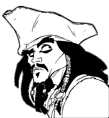Small Picture Pirates Of The Caribbean Coloring Pages Wecoloringpage