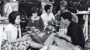 photo essay teenage culture from to today herald sun  1962 teenagers kick back at a barbecue in an era when outdoor entertaining at