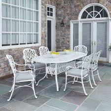patio furniture white. Floral Blossom White Patio Furniture