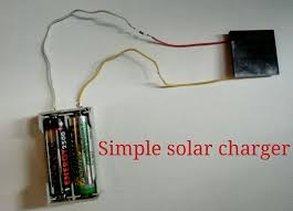 3 5v solar panel aa battery charger
