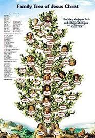 Amazon Com Jesus Family Tree Poster From Adam To Jesus