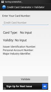 credit card generator validator 6xguy