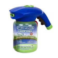 hydro mousse lawn growth garden sprayer bottle grow grass anywhere