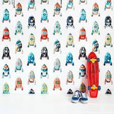 Studio Ditte Rockets Wallpaper