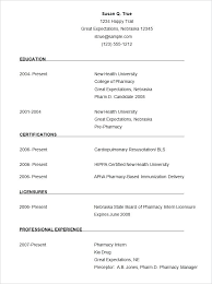 Formats Of A Resume Type Resume Format 2017 For Teachers Resume