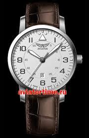 Швейцарские наручные <b>мужские часы AVIATOR V</b>.<b>1.11.0.039.4</b> ...