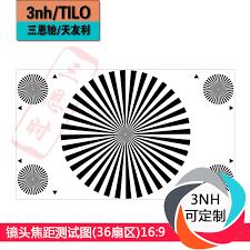 Back Focus Test Chart Usd 314 64 Lens Focal Length Test Chart 36 Sectors 16 9