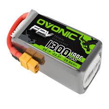 <b>OVONIC 22.2V 100C</b> 6S 1300mAh LiPo Battery Pack with XT60 ...